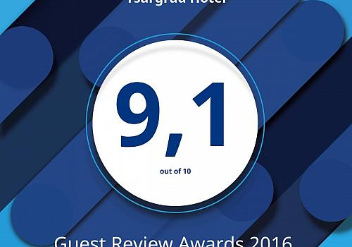 We received the @bookingcom Guest Review Award!